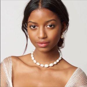 NWOT Anthro Sadoughi Pearl Short Necklace